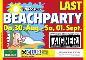 Beach Party Aigner @ Ballonwirt Aigner