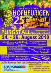 Hofheuriger - Werkskapelle Busatis @ Purgstall