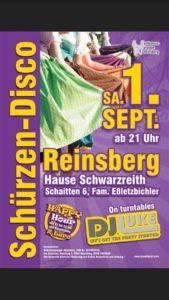 Schürzen-Disco @ Schwarzreith